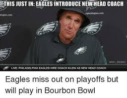 Philadelphia Eagle Memes - this justin eagles introduce new head coach elphiaeaglescom eagles
