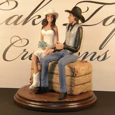 country wedding cake topper country wedding cake topper idea with cowboy and theme