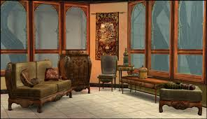 adele persianesque living room set updated april 2009 sims 2