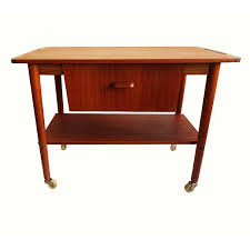silas danish teak tall boy 6 drawer dresser w inlay aptdeco
