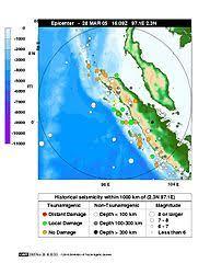 Erdbeben vor Sumatra 2005