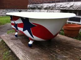 antique clawfoot tub 5 u0027 original vintage bathtub event