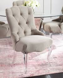 Tufted Dining Chair Set Caracole Aveline Tufted Dining Chairs Set Of 2 Neiman