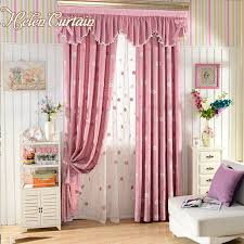 girl bedroom curtains helen curtain pink embroidered flower children living room curtains
