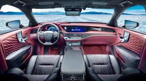 lexus sedan classes 2018 lexus ls 500 interior ready to fight s class youtube