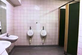 contemporary gender neutral bathrooms