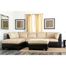 venezia leather sectional and ottoman abbyson living sectionals quality furniture furniture bedroom
