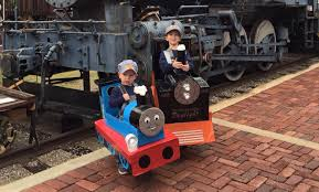 halloween steam train