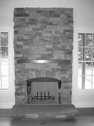 top grey brick fireplace designs and colors modern interior