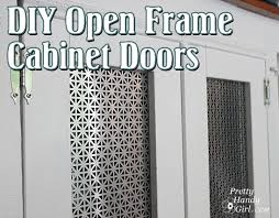 How To Build A Cabinet Door Frame Creating Open Frame Radiator Screen Cabinet Doors Pretty Handy