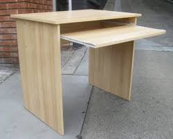Small Wood Computer Desks For Small Spaces Furniture Oak Wood Small Computer Desk With Storage Small