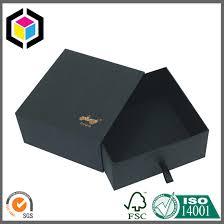 gold foil gift boxes gold foil print logo black gift paper box