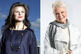 Sho Ayting ullman could get away with anything as judi dench