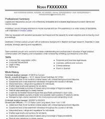 Resume Template For Lawyers Best Lawyer Resume Exle Livecareer