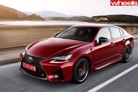 lexus sedan price australia 2015 lexus gs f review wheels