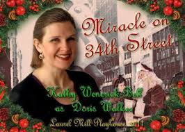 miracle on 34th street at laurel mill playhouse maryland theatre
