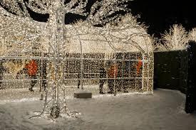 vancouver christmas light maze enchant christmas light maze and market editorial stock photo