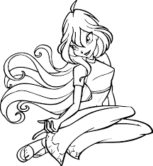 winx coloring pages coloring pages print