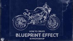 create blueprints how to create a fake blueprint effect in photoshop youtube