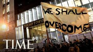 Trump Tower Ny Watch Anti Trump Protest At Trump Tower Nyc In Vr 360 Video