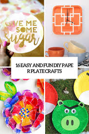 16 simple and fun diy paper plate crafts decor10 blog