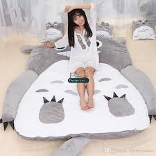2017 dorimytrader japanese anime totoro sleeping bag big plush
