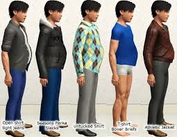 sims 3 men custom content mod the sims male pregnancy morphs for teens update 12 27 2012