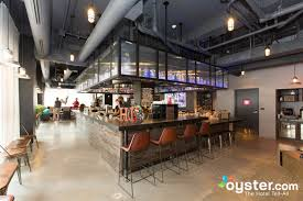 lobby bar and kitchen at the moxy new orleans downtown french