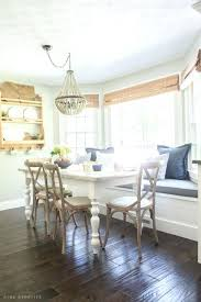 Dining Room Nooks Dining Room Nook Farmhouse Breakfast Nook Reveal Dining Table With