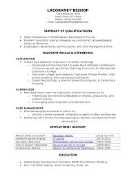 functional resume for high students functional resume