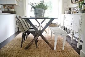 X Leg Dining Table Diy X Leg Farmhouse Table Liz Marie Blog
