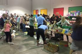 thanksgiving drive food drive doubles last year u0027s donation total but falls short of