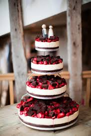 strawberry cheese wedding cake um yes uh oh might have to