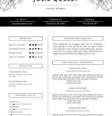fancy resume templates elegant resume template free resume format