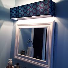 Shade For Hollywood Light Fixtures On Etsy DIY Project - Bathroom vanity light with fabric shades