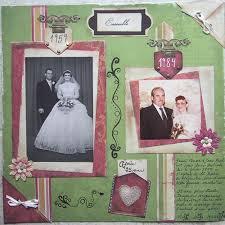 scrapbooking mariage scrapbooking mariage idee