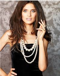 pearl necklace women images Pearl necklaces introducing the power of pearls dressitup jpg