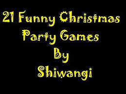 21 christmas party games for your december kitty party youtube
