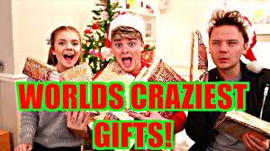 siblings weirdest gifts youtube