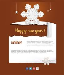 18 free and personalized newsletter templates for new year