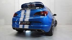 vauxhall vxr sedan vauxhall astra j vxr performance exhaust by cobra sport exhausts