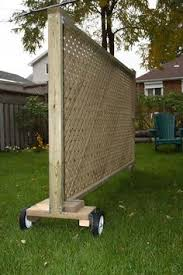 Backyard Privacy Screens by Diy Privacy Planter Diy Planters Pinterest Planters