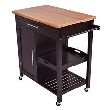bamboo kitchen island trolley cart kitchen u0026 dining carts