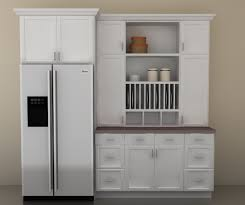 cozy corner kitchen hutch furniture with cabinet section for