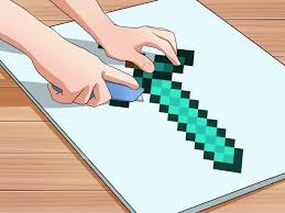 how to write on paper in minecraft how to make a minecraft costume with pictures wikihow