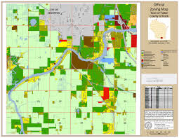 Zoning Map Zoning Map Town Of Fulton Rock County Wisconsin