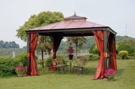 Outdoor Patio Canopy Gazebo Simple Outdoor Patio Canopy Gazebo From Mahogany