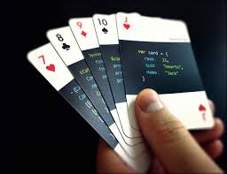 code deck u2013 playing cards for developers playing card games