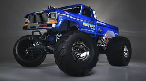 bigfoot electric monster truck light painting the traxxas bigfoot 1