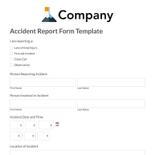 patient incident report form template web form templates customize use now formstack